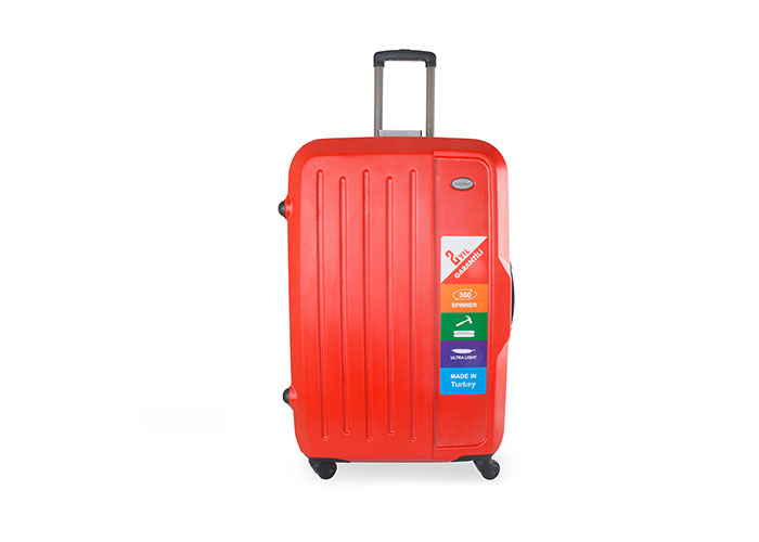 Addison ADS-201 Kırmızı Küçük Boy Valiz