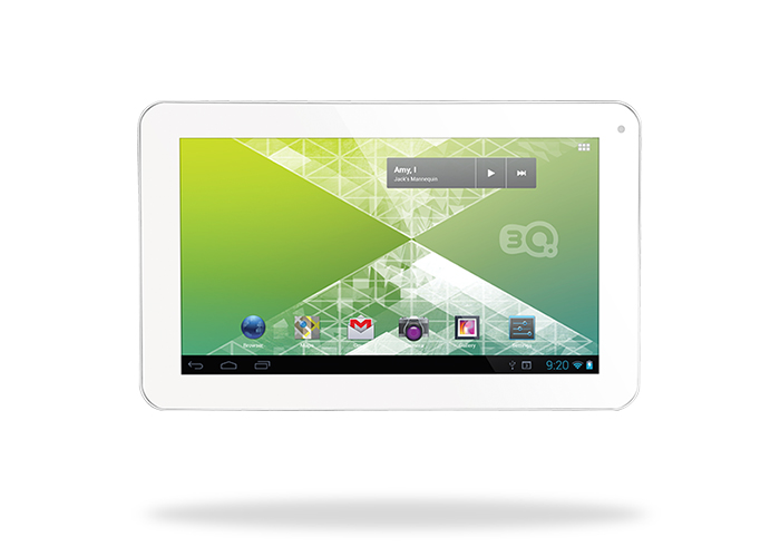 3Q LC0901D 9 1GB DDR3 1.5GHz X2 8GB Wifi/ HDMI Beyaz Android 4.1 Tablet Pc
