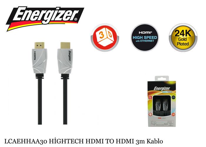 Energizer LCAEHHAA30 HİGHTECH HDMI TO HDMI 3m Kablo
