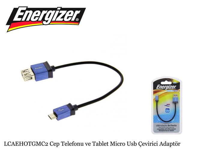 Energizer LCAEHOTGMC2 Cep Telefonu ve Tablet Micro Usb Çevirici Adaptör