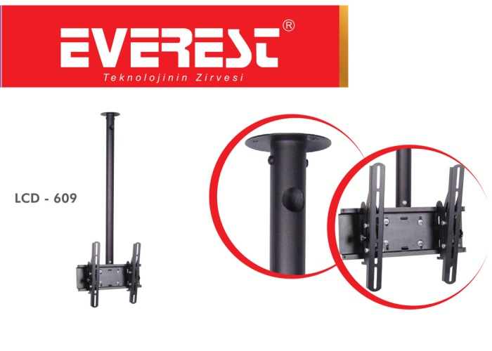 Everest LCD-609 10-32 TV Tavan Askı Aparatı