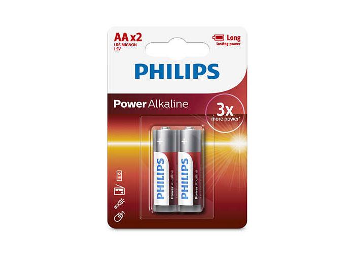 Philips LR6P2B/97 Alkalin Kalem AA 2li Pil