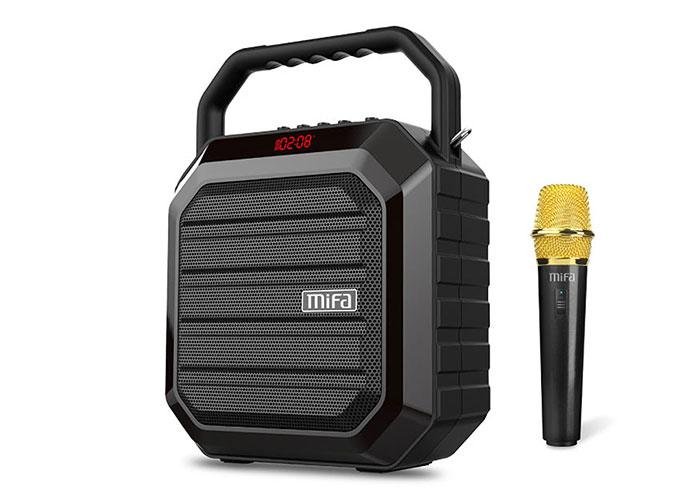 Mifa M100 Plus 15W Siyah Kablosuz Mikrofonlu Bluetooth Toplantı Anfisi