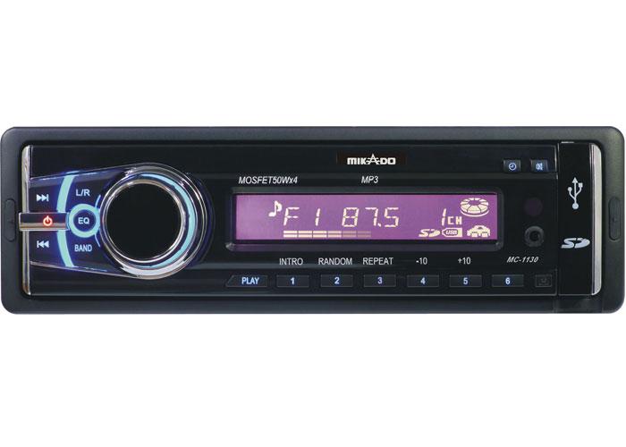 Mikado MC-1130 MP3 Oynatıcı + FM Radyo + Kafa Çıkmalı Uz.Kum. Oto Teyp