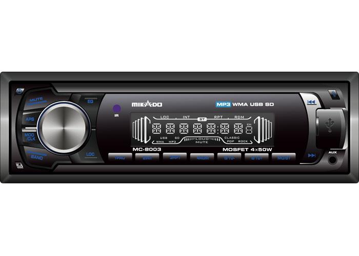 Mikado MC-8003 MP3 Oynatıcı + FM Radyo Uzaktan Kumandalı Oto Teyp