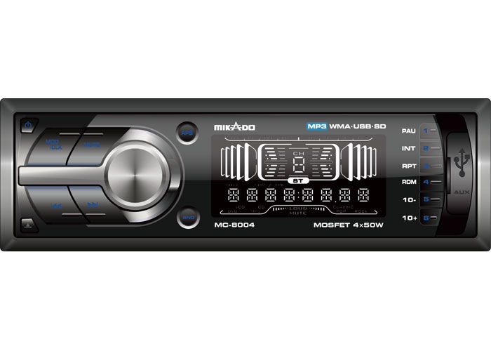 Mikado MC-8004 MP3 Oynatıcı + FM Radyo Uzaktan Kumandalı Oto Teyp