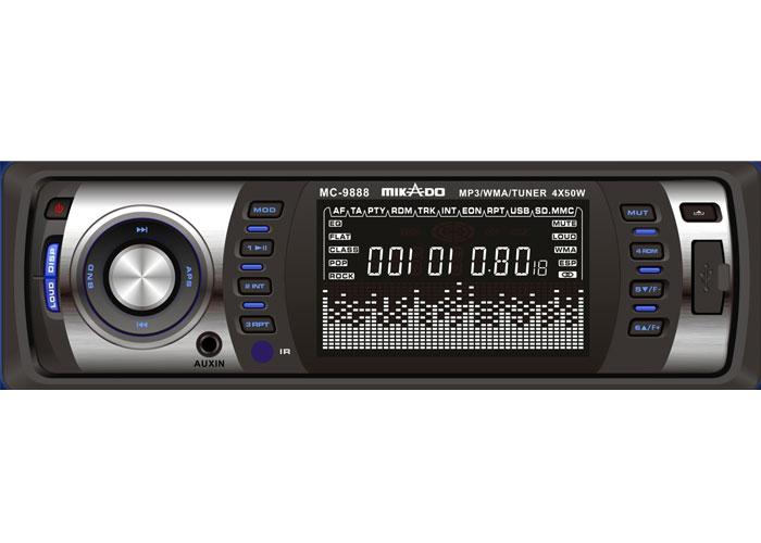 Mikado MC-9888 MP3 Oynatıcı + FM Radyo + Kafa Çıkmalı Uz.Kum. Oto Teyp