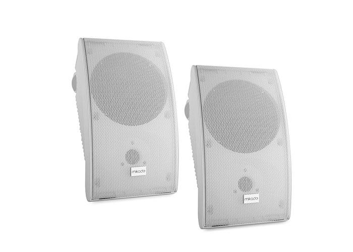 Mikado MDK142-6 6.5 -16.5cm 30W Max: 100W 8 ohm Ymh Model White 2x Wall Speaker