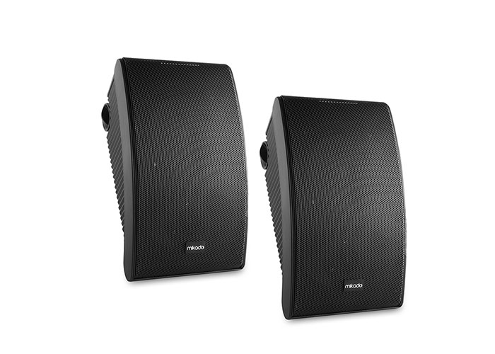 Mikado MDK142-6 6.5 -16.5cm 30W Max: 100W 8 ohm Ymh Model Black 2pcs Wall Speaker