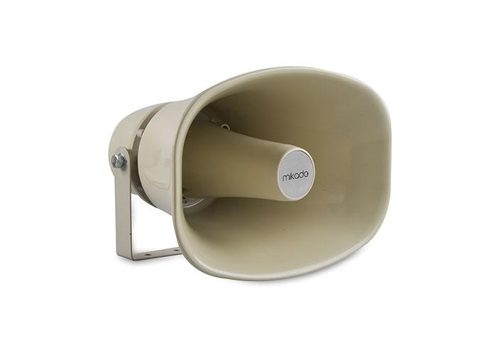 Mikado MDK-30H 100W White 100v + 8 Ohm Horn Speaker