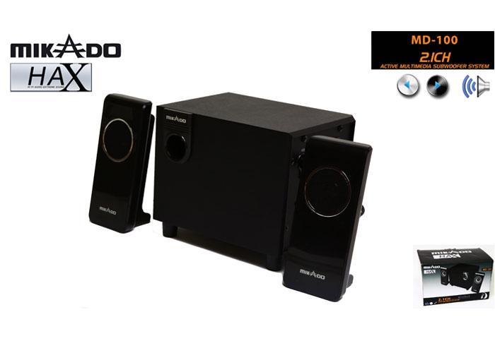 Mikado MD-100 2+1 Siyah Speaker