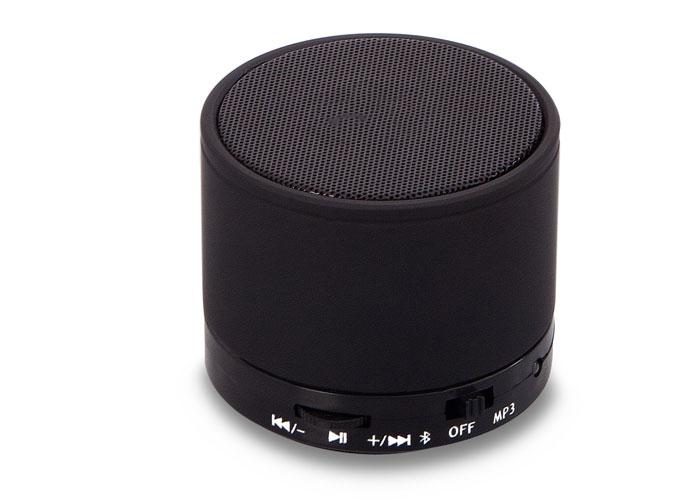 Mikado MD-10BT Black FM Radio Supported Bluetooth Speaker