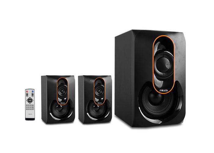 Mikado MD-1212 2+1 Siyah Usb+SD+Fm Destekli Multimedia Speaker
