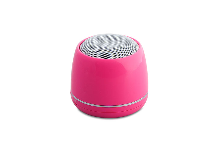 Mikado MD-12BT Speaker Pink Chargeable Bluetooth