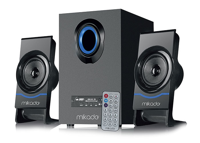 Mikado MD-1700BT 2+1 Siyah Usb+SD+Fm Destekli Multimedia Bluetooth Speaker