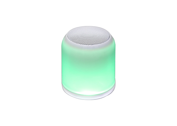 Mikado MD-21BT Soundcube Beyaz 3W 300mAh Bluetooth, Tf Card Destekli Işıklı Speaker