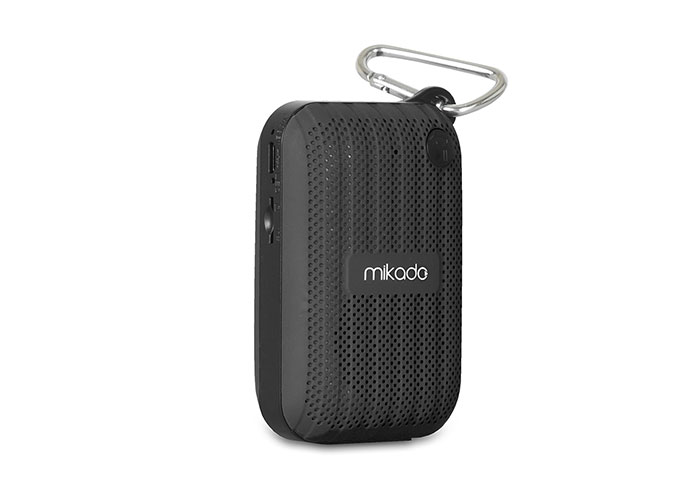 Mikado MD-22BT Black TF Card + FM Supported Bluetooth Rechargeable Speaker
