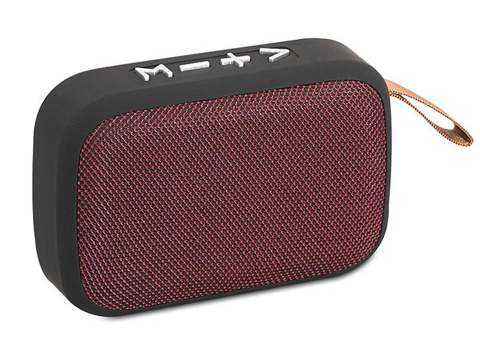 Mikado MD-25BT ENJOY N2 Red Bluetooth 3W TF / USB / FM Supported Speaker