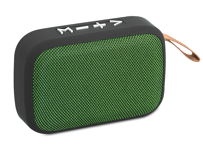 Mikado MD-25BT ENJOY N2 Yeşil Bluetooth 3W TF/USB/FM Destekli Speaker