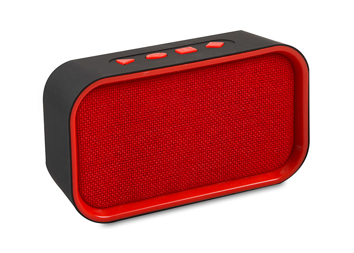 Mikado MD-25BT ENJOY Kırmızı/Siyah FM Destekli Bluetooth 3W TF/USB Destekli Speaker