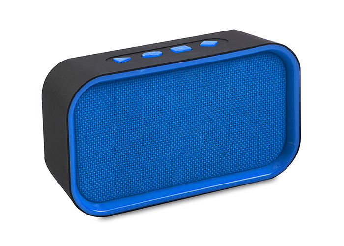 Mikado MD-25BT ENJOY Mavi/Siyah FM - Bluetooth 3W TF/USB Destekli Speaker