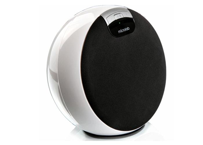 Microlab MD312 2.0 RMS 7W Beyaz Bluetooth Lithium BL5C Batarya Speaker