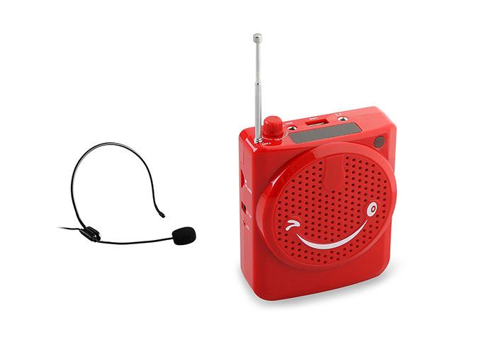 Mikado MD-384 Kırmızı FM Destekli Öğretmen - Rehber Anfisi