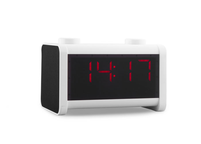 Mikado MD-53BT Speaker White SD+FM+Alarm Supported Bluetooth
