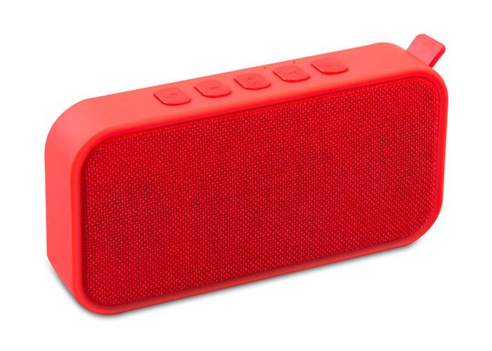 Mikado MD-55BT Kırmızı Speaker FM Destekli Bluetooth
