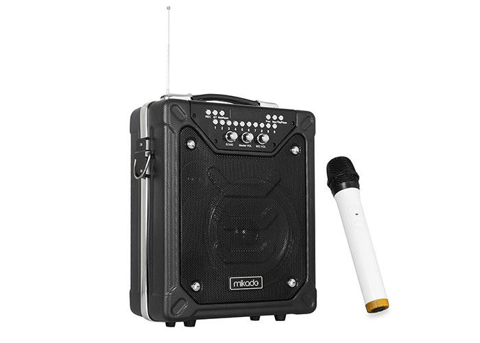 Mikado MD-55KP 60W Siyah Usb + FM Destekli Bluetooth Kablosuz Mikrofonlu Öğretmen/ Toplantı Anfisi