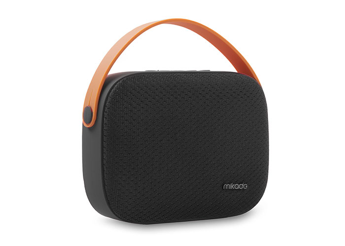 Mikado MD-58BT Black Usb-TF Supported Bluetooth Portable Speaker