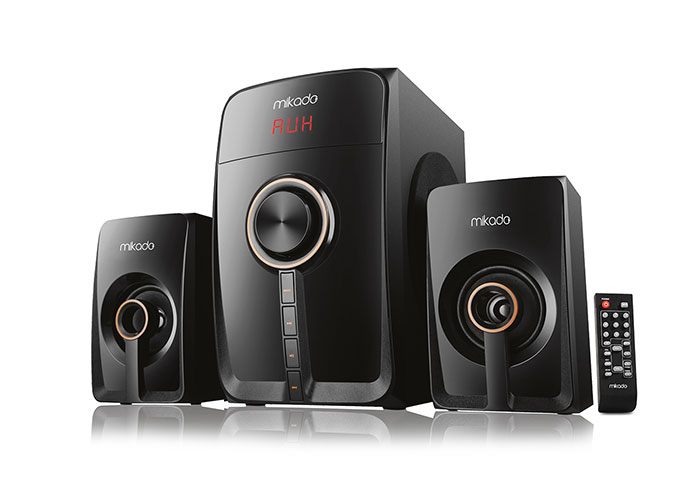 Mikado MD-660BT 2+1 Siyah Fm Destekli Multimedia Bluetooth Speaker