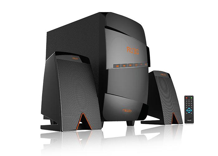 Mikado MD-671BT 2 + 1 40W RMS Black Usb + SD + Fm SupportedMultimedia Bluetooth Speaker