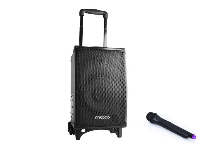 Mikado MD-77KP 50W Siyah FM Destekli Öğretmen Bluetooth Toplantı Anfisi