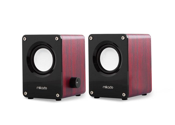 Mikado MD-823 2.0 3W*2 Siyah USB Speaker