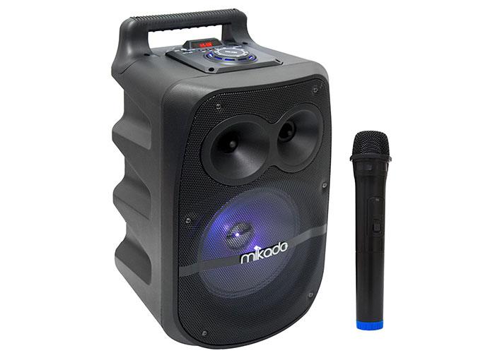 Mikado MD-83KP Siyah Usb+Tf Kart+Fm+Bluetooth Kablosuz Mikrofonlu Toplantı Anfisi