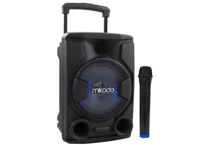 Mikado MD-84KP Siyah Usb+Tf Kart+Fm+Bluetooth Kablosuz Mikrofonlu Mikrofonlu Toplatı Anfisi