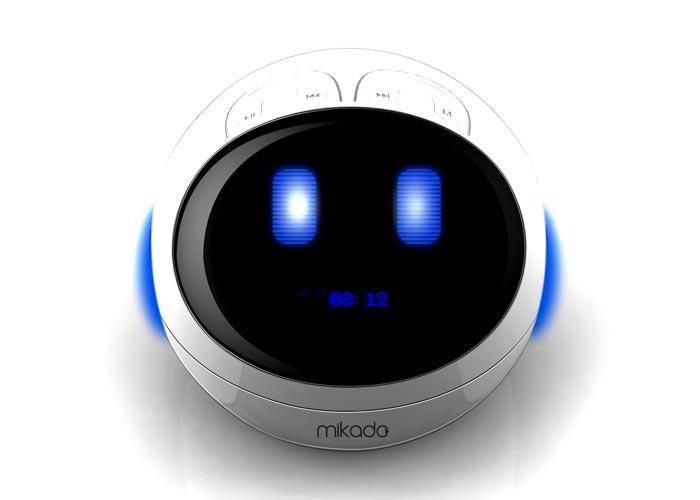 Mikado MD-866 3W+3W Beyaz FM Radyo Destekli Bluetooth Speaker