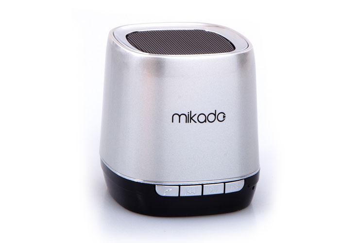 Mikado MD-88BT Gümüş FM Radyo Destekli Bluetooth Speaker