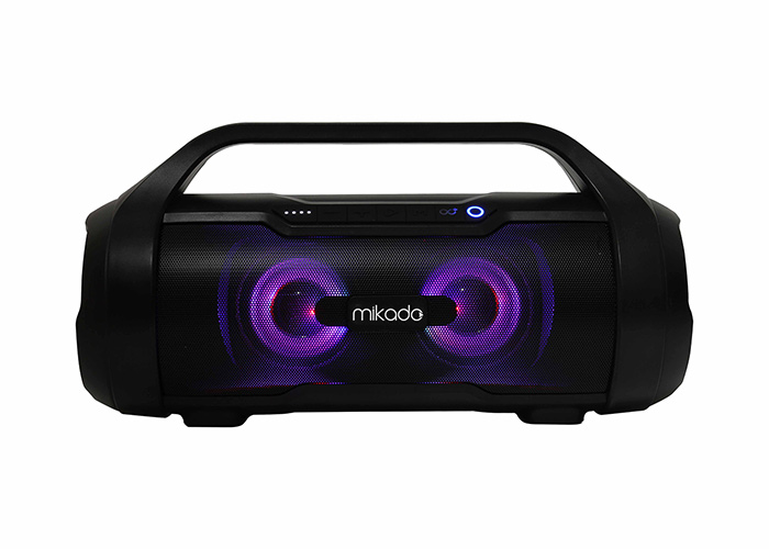 Mikado MD-97BT BOOM Gerçek 40W RMS Super Bass Subwoofer USB+SD IPX5 Su Geçirmez Bluetooth Speaker