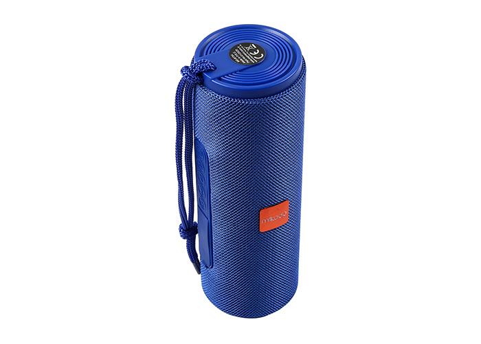 Mikado MD-BT54 Mavi Bluetooth-Usb -Aux -TF Card 3.7V 1200mAh Işıklı Taşınabilir Speaker