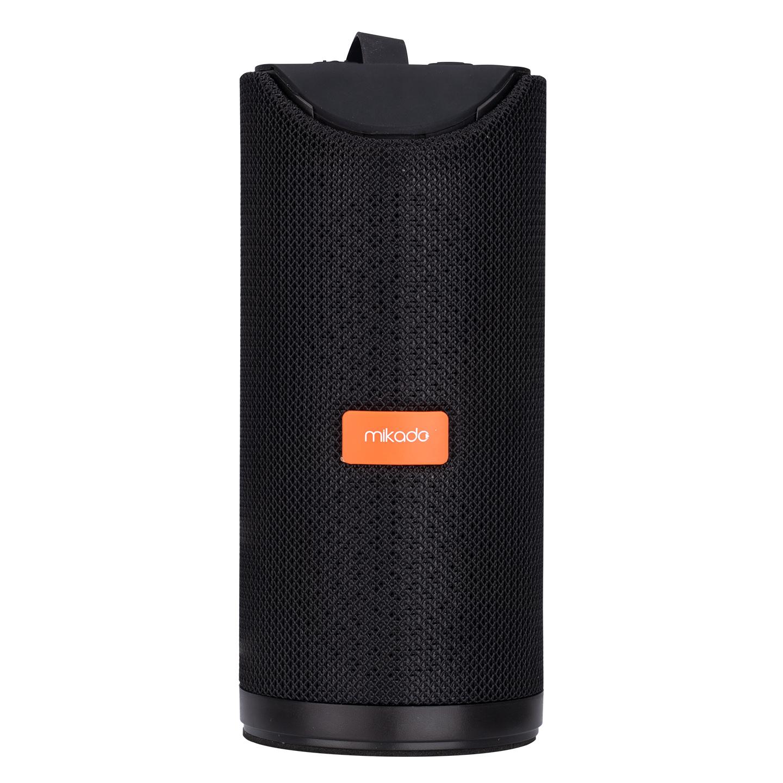 Mikado MD-BT66 3.7V 1200mAh Siyah Aux+Usb+FM+BT+TF Kartlı Kablosuz MP3 Oynatıcı Hoparlör