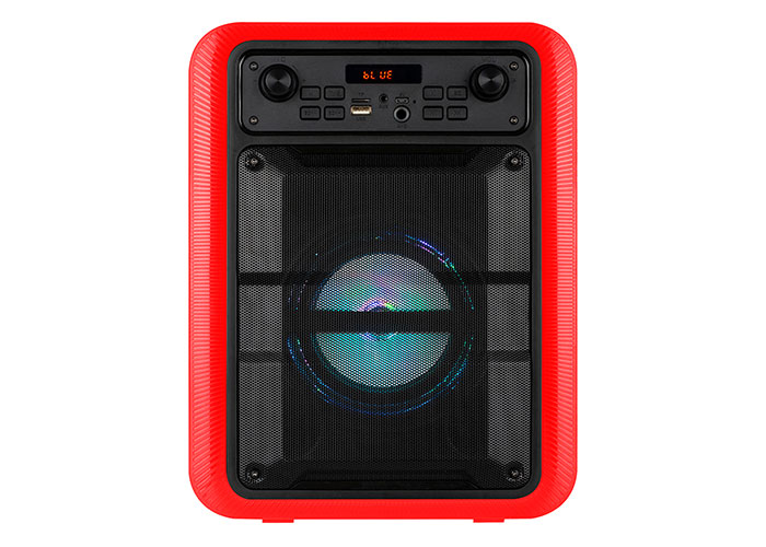 Mikado MD-V9BT 9W 1200mAh Kırmızı BT+USB+AUX+TF+TWS+EQ+ECHO Taşınabilir Speaker