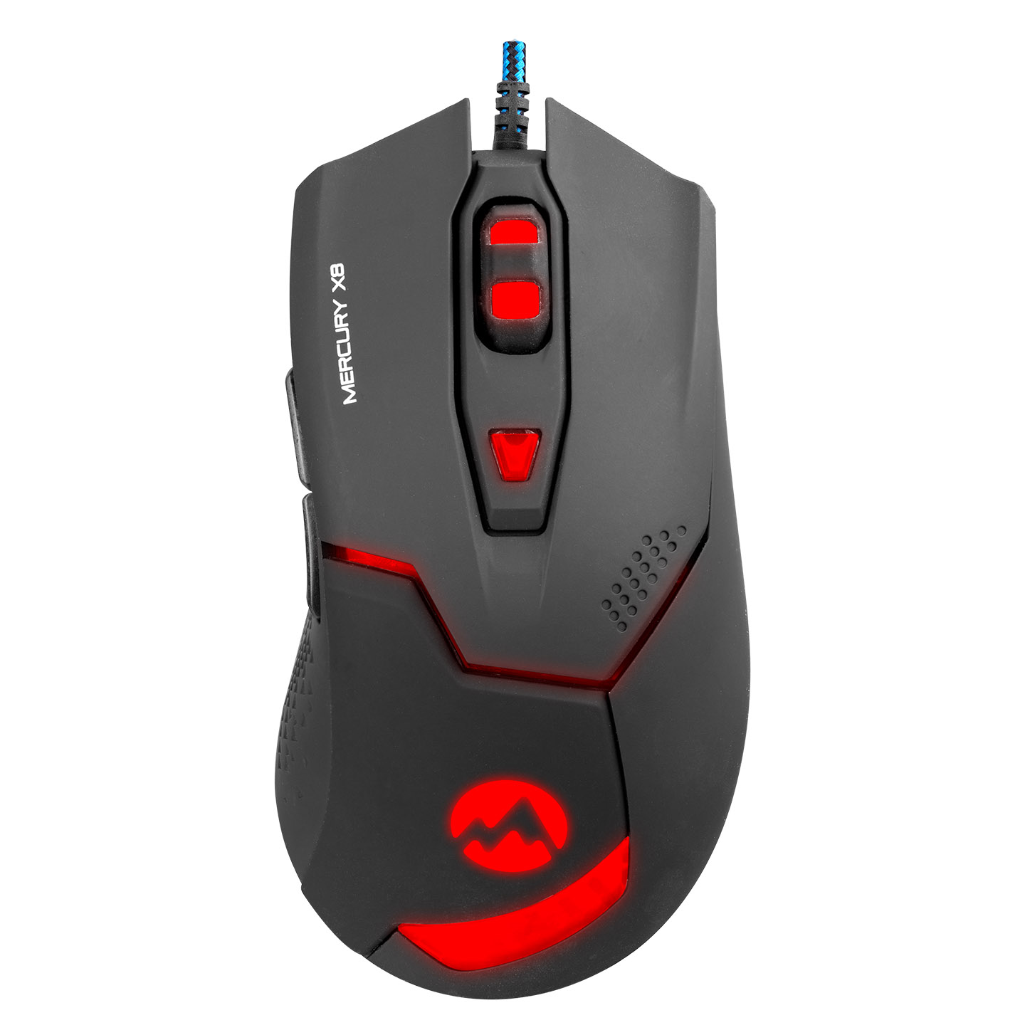 Everest Mercury X8 Usb Black 6D Optical Gaming Mouse