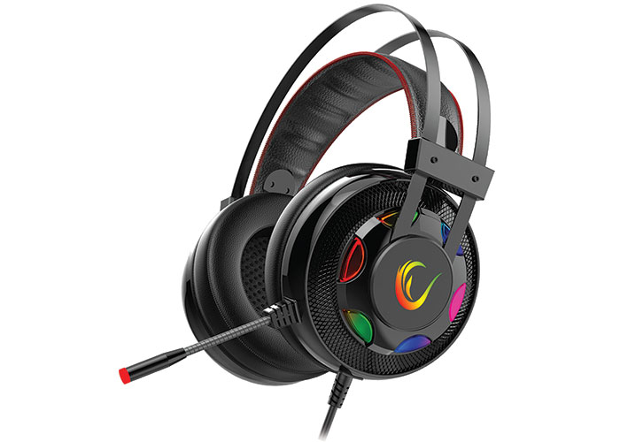 Rampage Miracle-X1 RGB 7.1 Surround Sound System Gaming Headset with Microphone