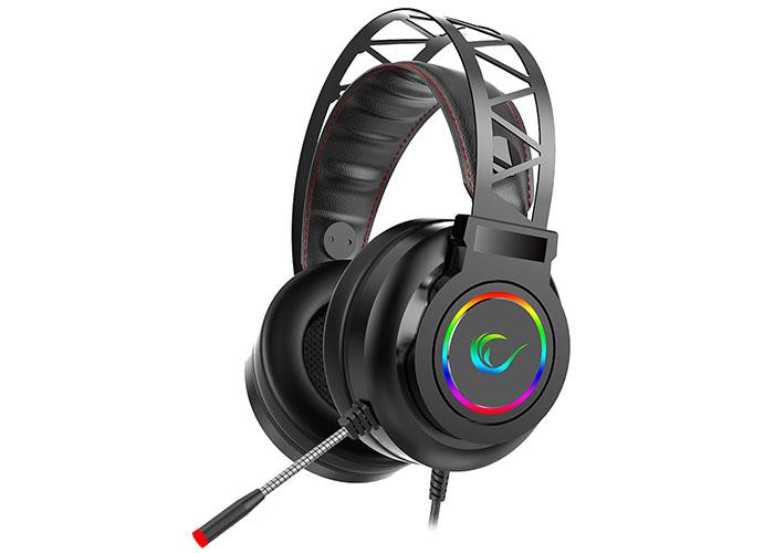 Rampage Miracle-X5 Siyah RGB Led 7.1 Surround Sound System Mikrofonlu Oyuncu Kulaklığı