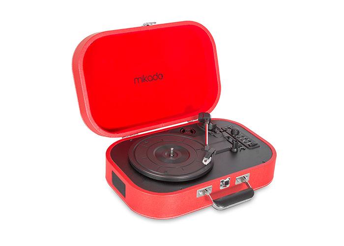 Mikado Nostalgia MN-101 Pikap Kırmızı Usb+RCA+Bluetooth Destekli Müzik Kutusu