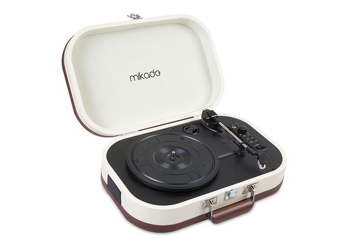 Mikado Nostalgia MN-101 Pikap Fil dişi Usb+RCA+Bluetooth Destekli Müzik Kutusu