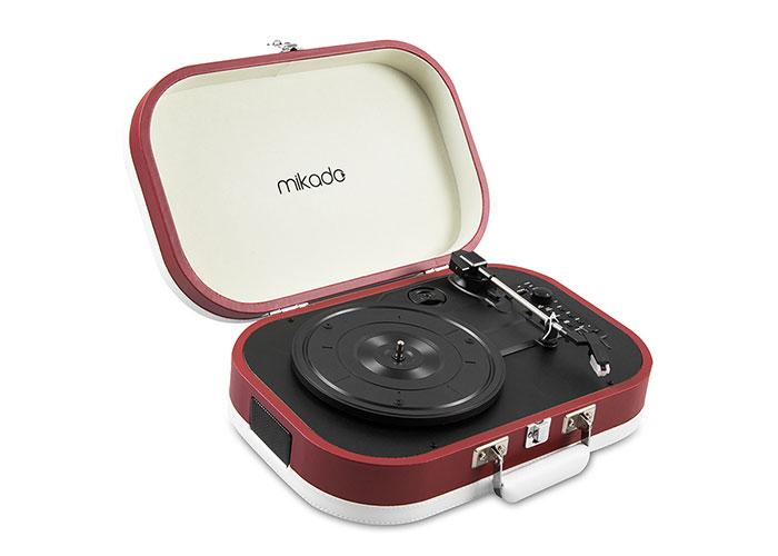 Mikado Nostalgia MN-101 Pikap Yakut Usb+RCA+Bluetooth Destekli Müzik Kutusu
