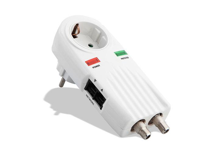 S-link MSIS-TNC Bnc - Tel/Fax/Modem - Network Akım Koruyucu Priz